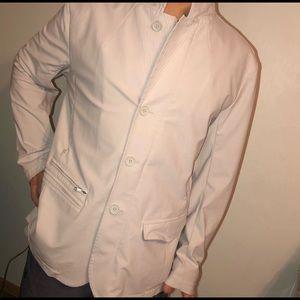 Men's Lululemon white Blazer/Jacket size Large